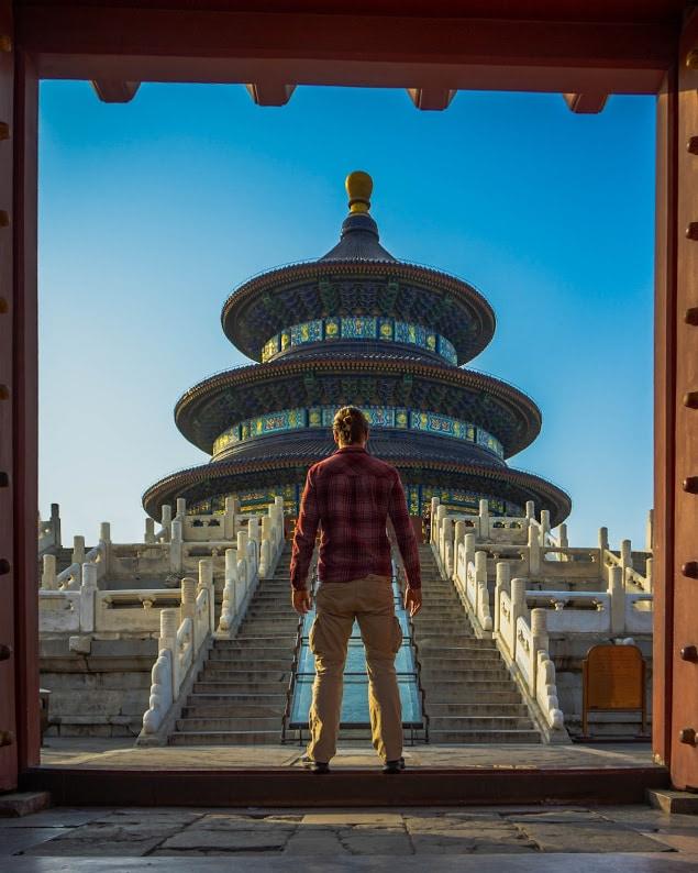 Reisroute China