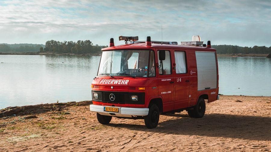 Mercedes Camper Oldtimer